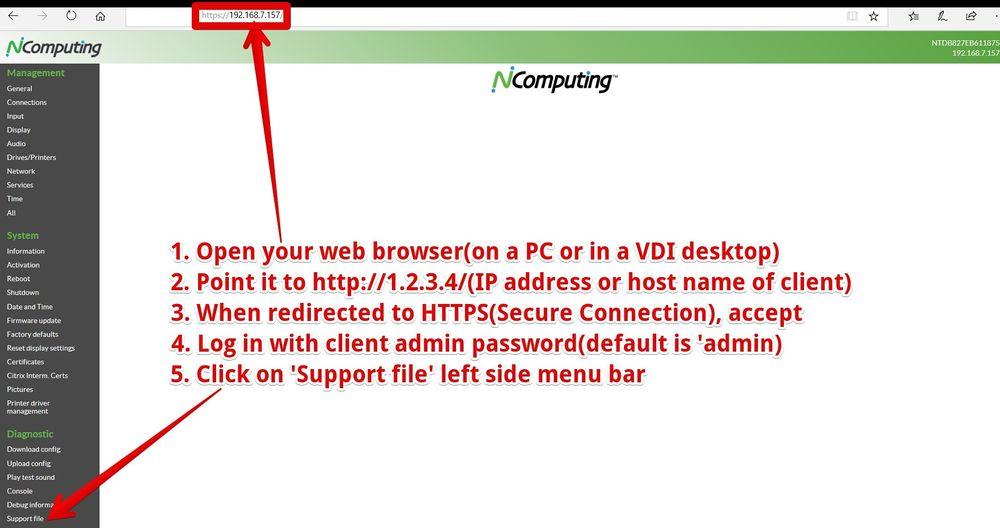 Retrieve a Support File - NComputing Knowledge Base