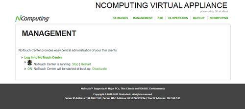 Stratodesk Virtual Appliance - NComputing Knowledge Base